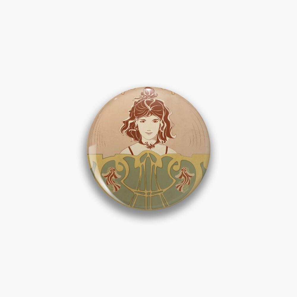 Badge «Parure Poisson rouge»