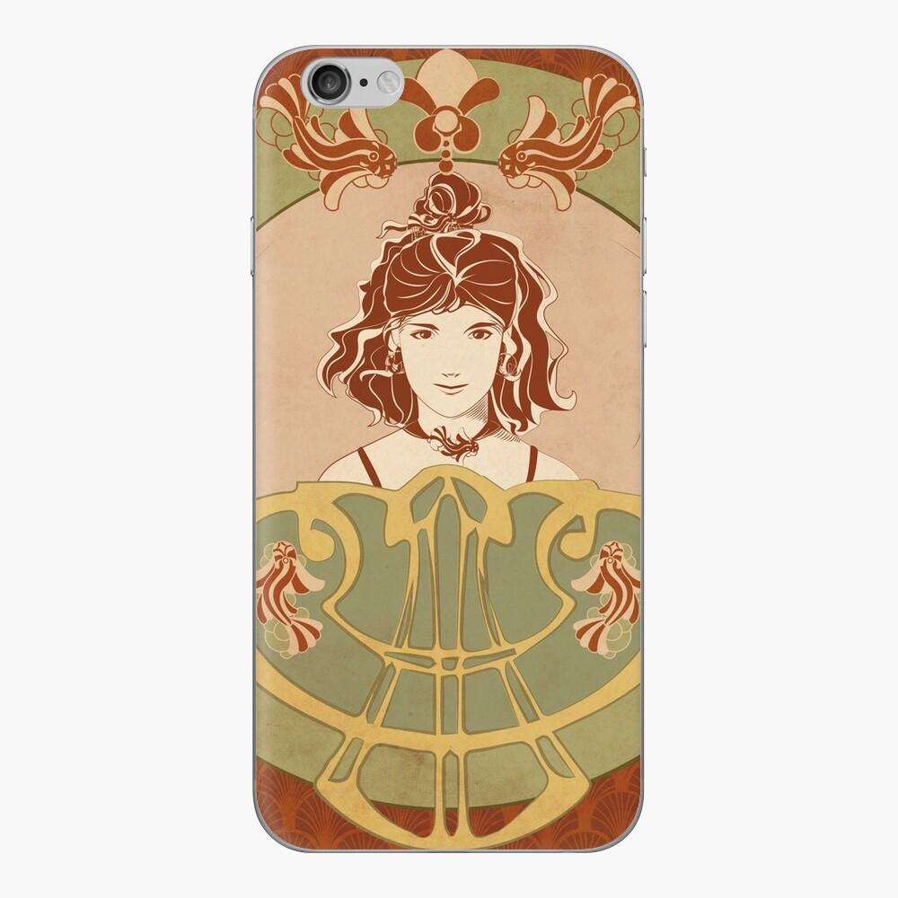 Skin (autocollant) iPhone «Parure Poisson rouge»