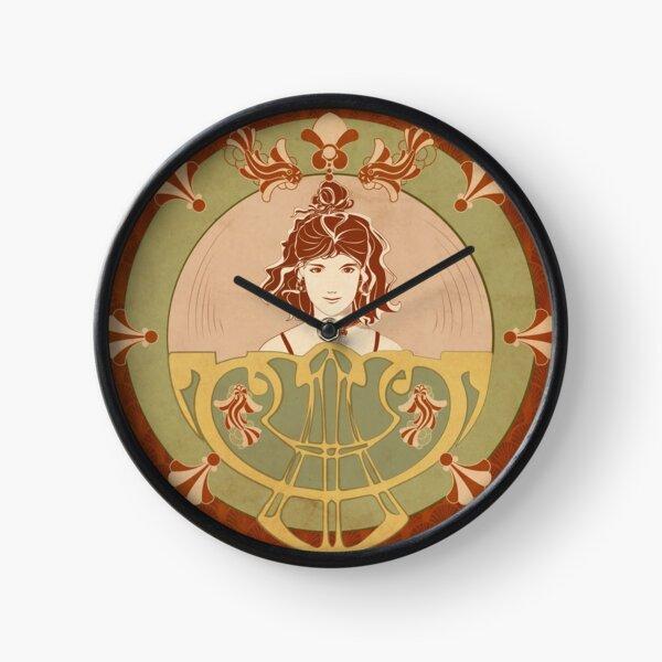 Parure Poisson rouge Horloge