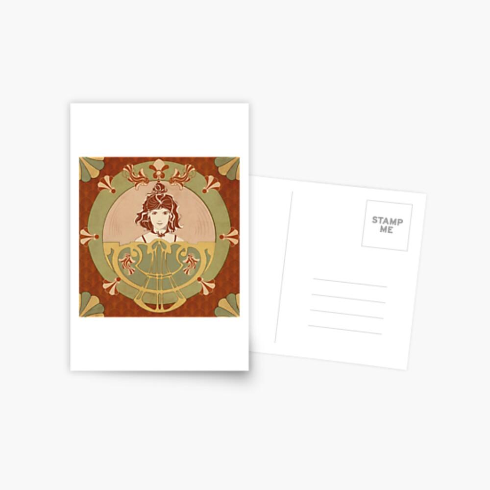 Carte postale «Parure Poisson rouge»