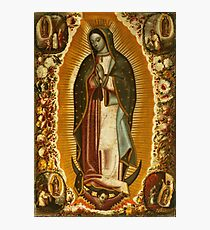 Our Lady of Guadalupe, Virgin Mary, Blessed Mother Photographic Print