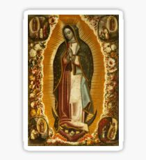 Our Lady of Guadalupe, Virgin Mary, Blessed Mother Sticker
