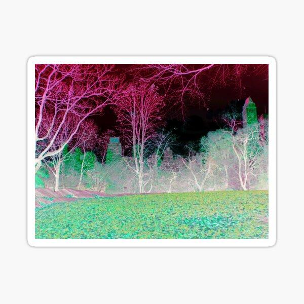 Central Park New York grün Sticker