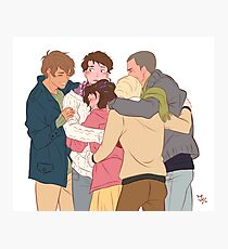 gangsey group hug Photographic Print