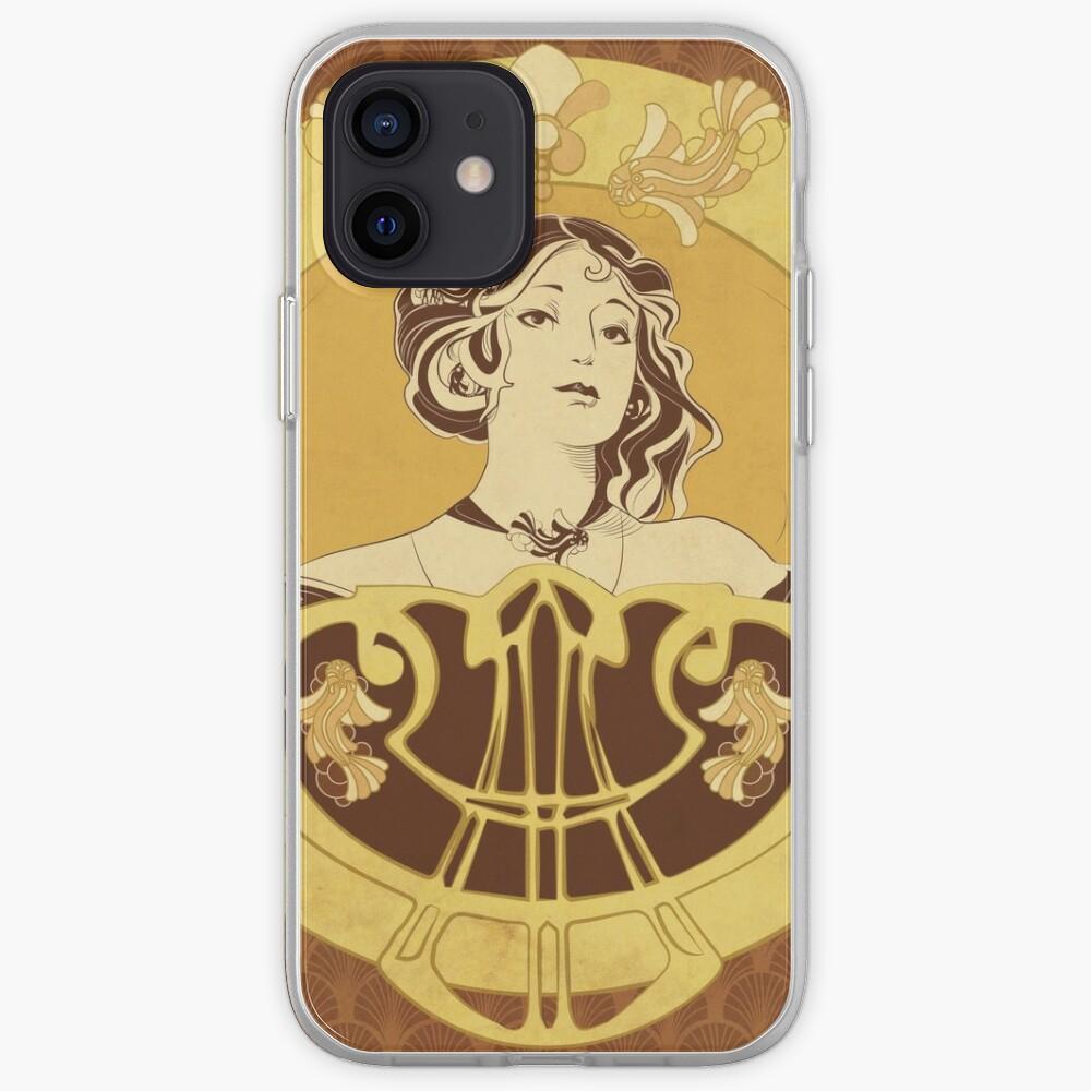 Coque iPhone «Parure Poisson brun»