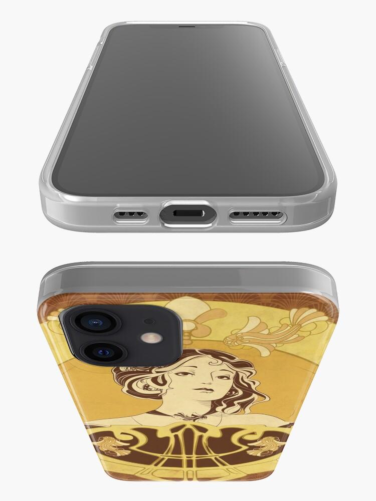 Coque iPhone ''Parure Poisson brun': autre vue
