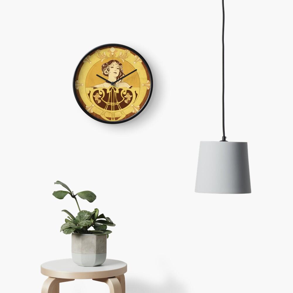 Horloge «Parure Poisson brun»