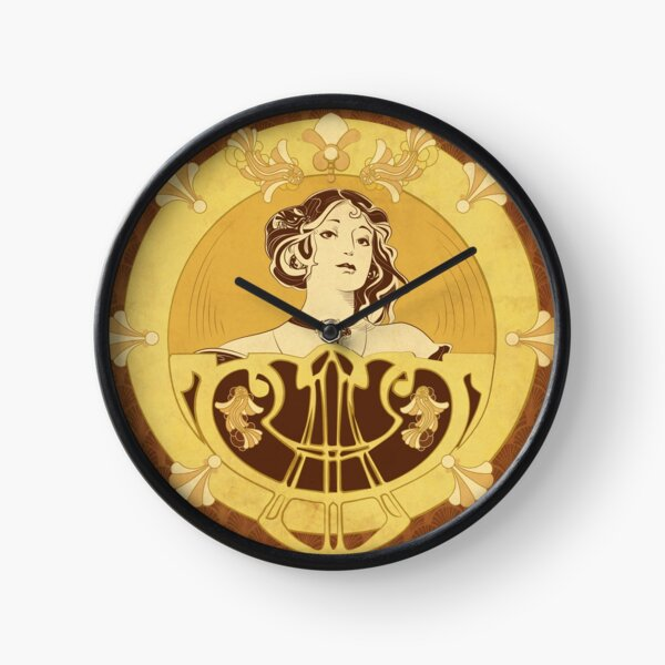 Parure Poisson brun Horloge