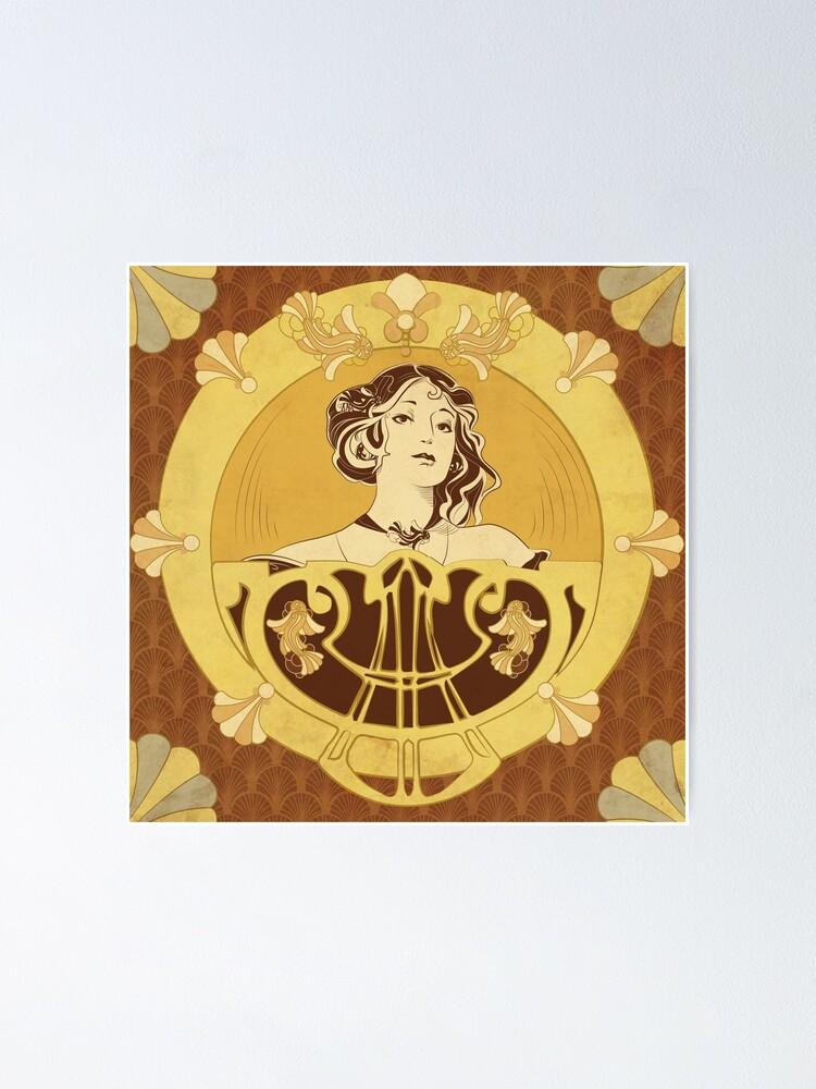 Poster ''Parure Poisson brun': autre vue