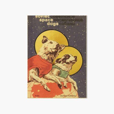 Soviet Space Dogs Art Board Print