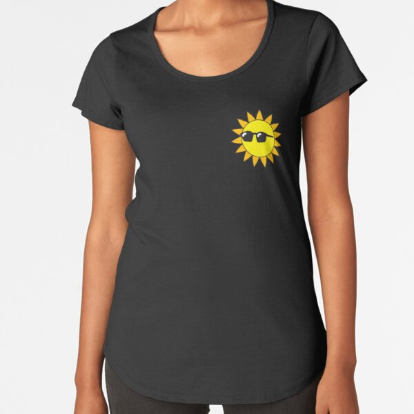 Limited Edition Sun Merch Premium Scoop T-Shirt
