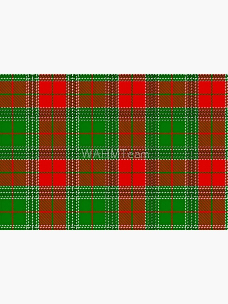 Red and Green Plaid, Red and Green Check, Tartan by WAHMTeam