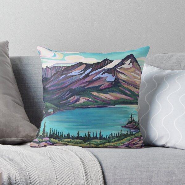 Kokanee Glacier Provincial Park Throw Pillow