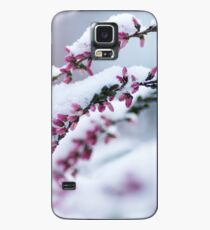 Winter Flowers Case/Skin for Samsung Galaxy