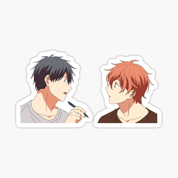 Uenoyama and Mafuyu Sticker