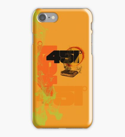 farenheit 451 iPhone Case/Skin