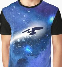 Trek.fm To Boldly Go... Graphic T-Shirt