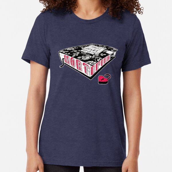 Mortified (Red Text) Tri-blend T-Shirt
