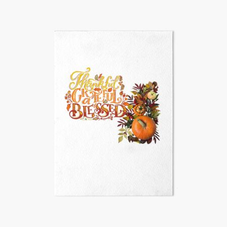 Count Your Blessings Art Board Print