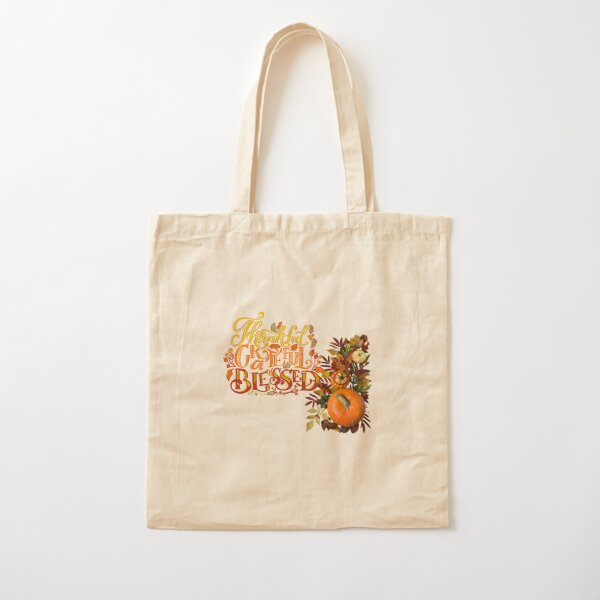 Count Your Blessings Cotton Tote Bag