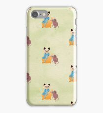 Plump Kitty and Friend iPhone Case/Skin