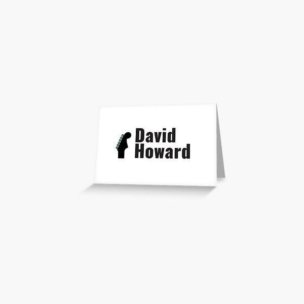 David Howard Logo Wear! Greeting Card