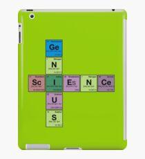 SCIENCE GENIUS! Periodic Table Scrabble iPad Case/Skin