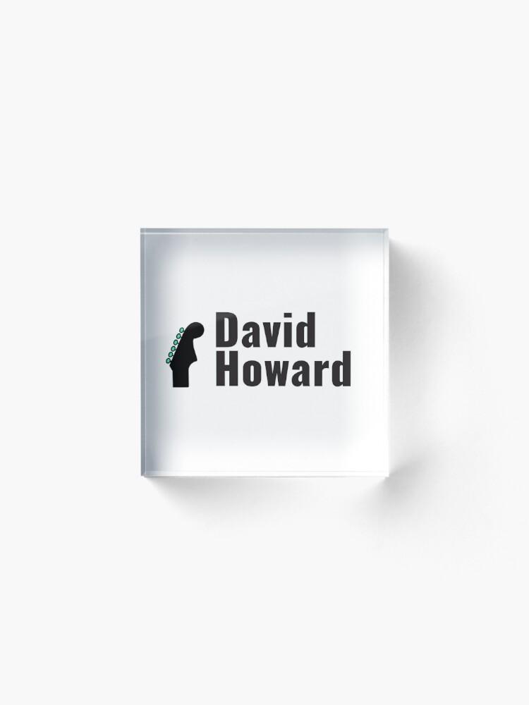 Alternate view of David Howard Logo Wear! Acrylic Block