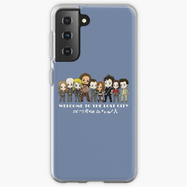 Welcome to the Lost City_v2 Samsung Galaxy Soft Case