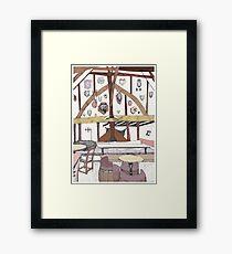 House of Trembling Madness Framed Print