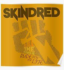 Skindred - Lyric Art Poster