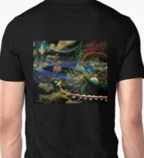 The History of the Bioluminoidal Fractalization Process Unisex T-Shirt