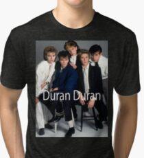 Vintage Duran Duran Band by jebrak Tri-blend T-Shirt