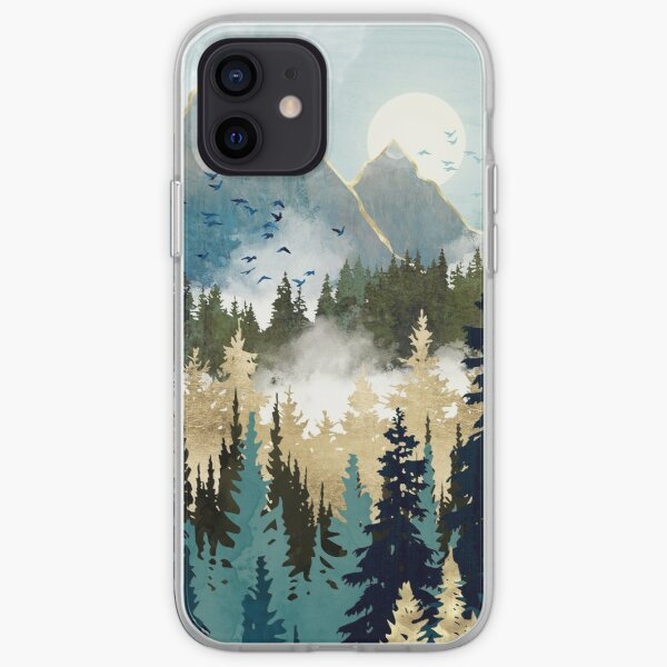 Misty Pines iPhone Soft Case