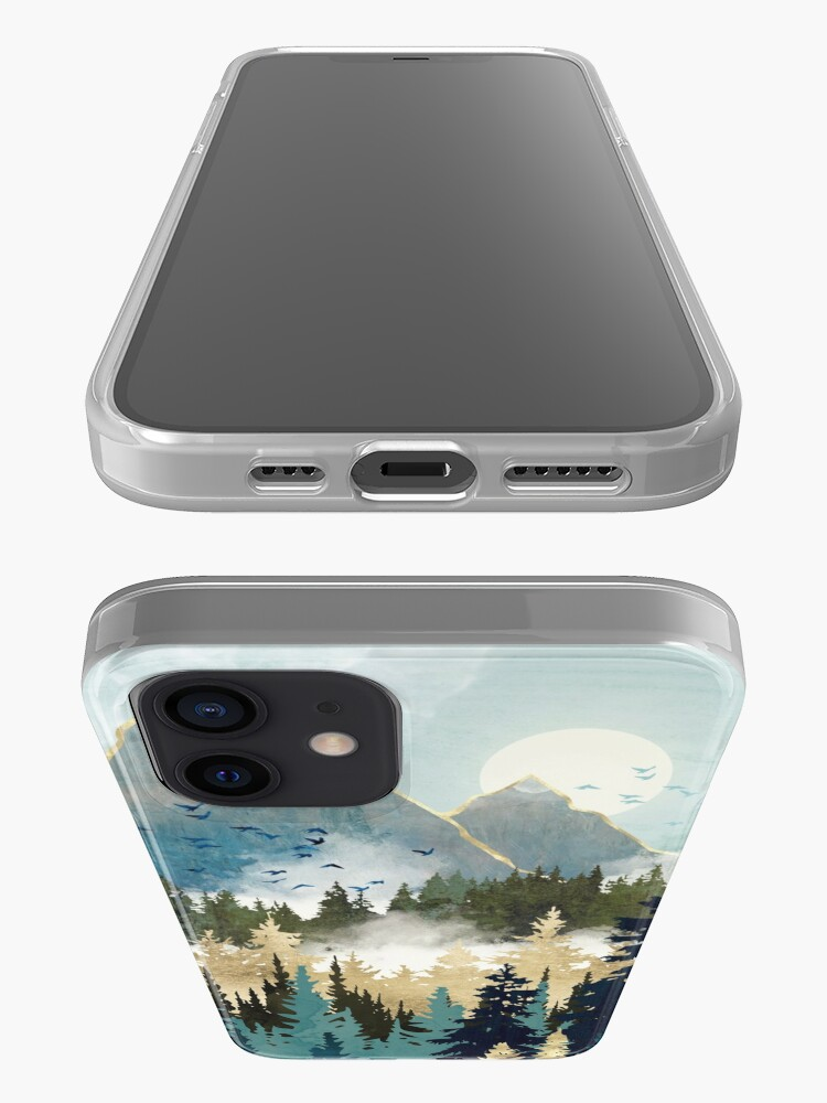Alternate view of Misty Pines iPhone Case & Cover
