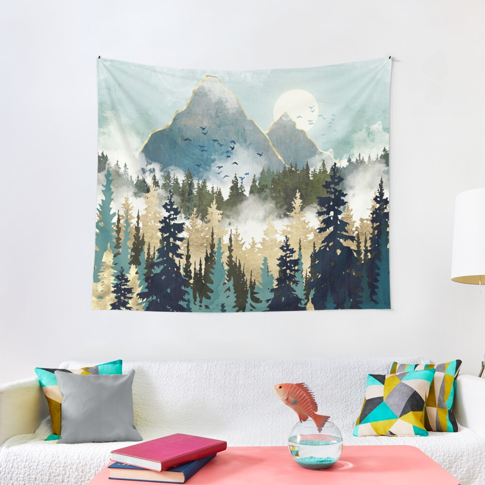 Misty Pines Tapestry