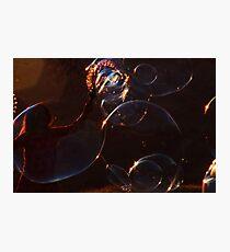 Bubbles! Photographic Print