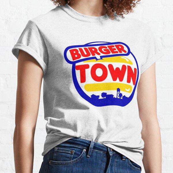 Burger Town Camiseta clásica