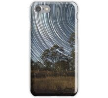 Startrail, Lake iPhone Case/Skin
