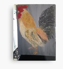 Magestic Rooster Metal Print