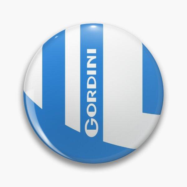 Emblème rétro Renault Gordini G - Montlhéry, Rallye de Monte Carlo - imprimé blanc Badge