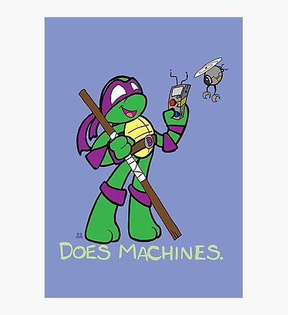 Teenage Mutant Ninja Turtles- Donatello Photographic Print