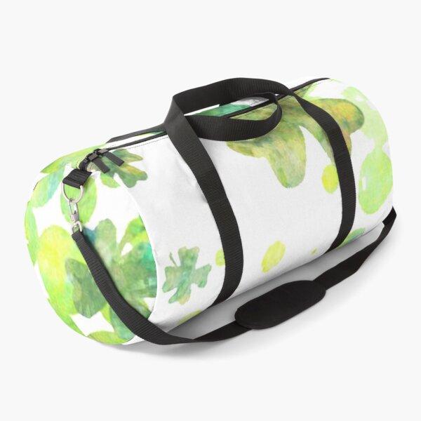Lucky 4 Leafed Clovers Duffle Bag