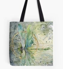 Beautiful Enchanted Dragonfly  Tote Bag
