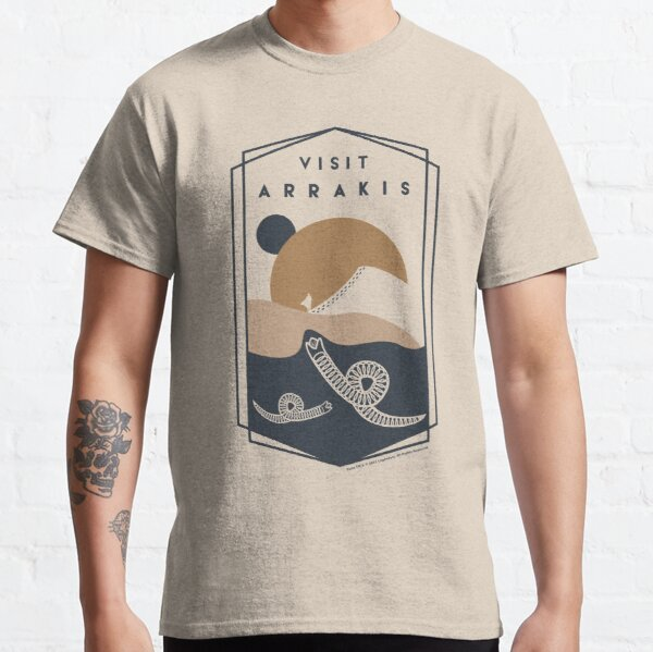 Visit Arrakis Dune 2021 Classic T-Shirt