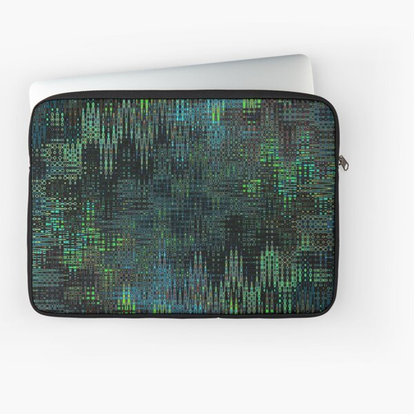 The Matrix Fluid Curves Laptop Sleeve