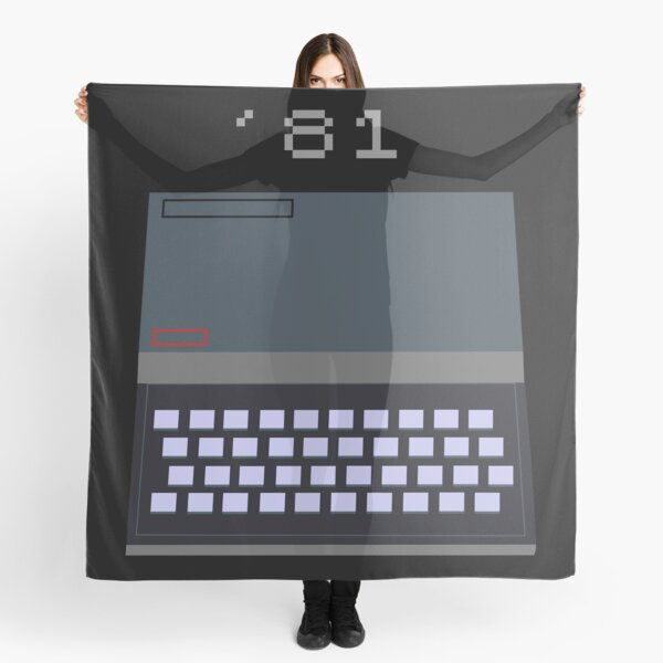 Sinclair ZX81 - It grows with you Scarf