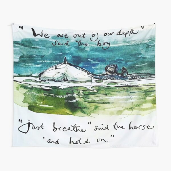We Are Out Of Our Depth - Said The Boy Tapestry