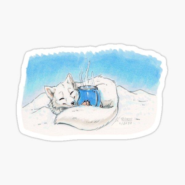 Arctic Warmth Sticker