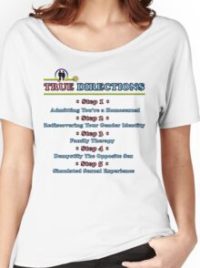 True Directions (But I'm a Cheerleader) Women's Relaxed Fit T-Shirt